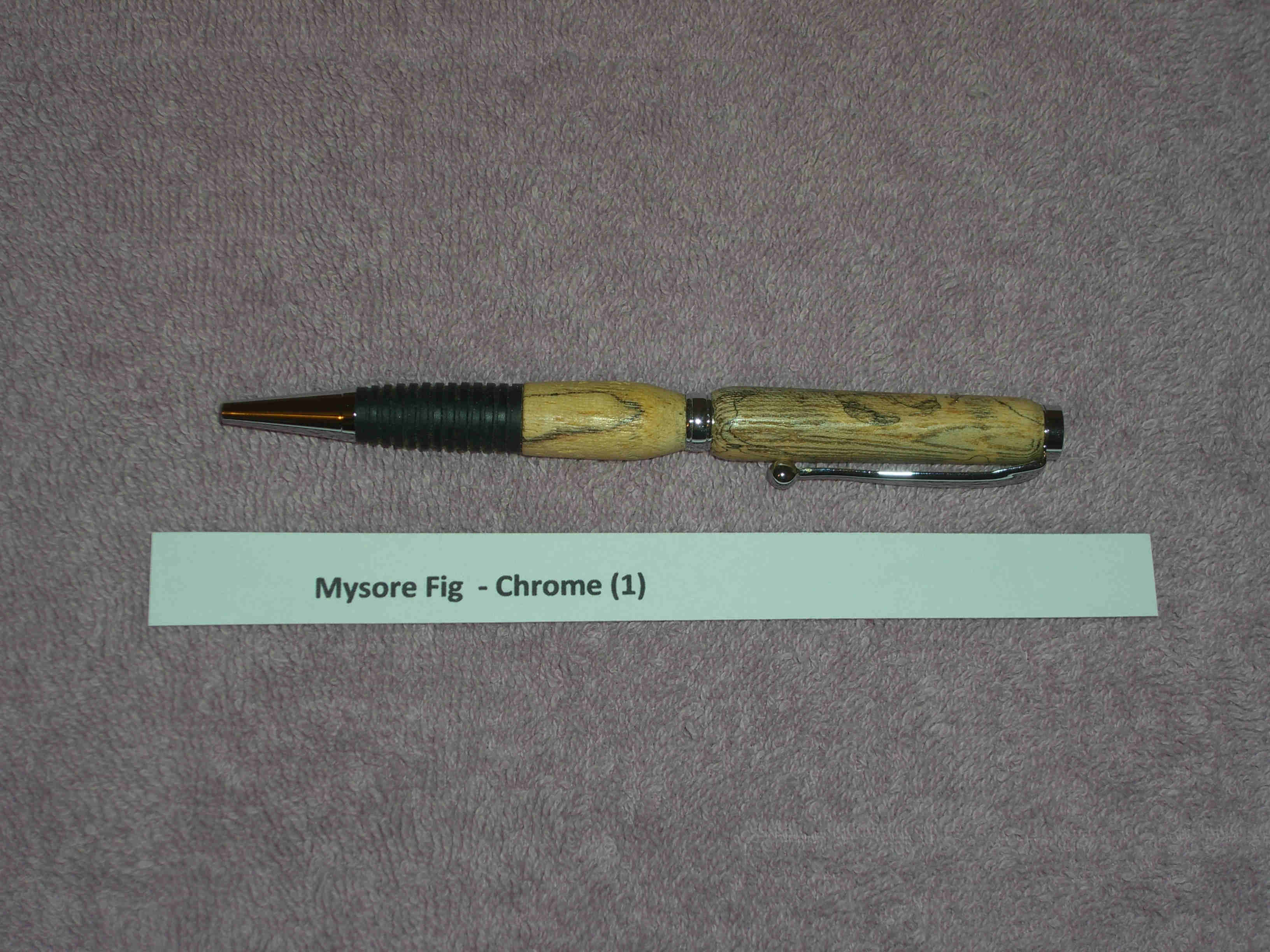 Handmade Wood Pen 1 - Click Image to Close